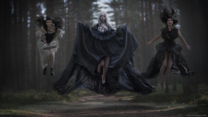 нежить,нечисть,ведьмы,арт,фото-арт,фэнтези,девушки Нежитьphoto preview
