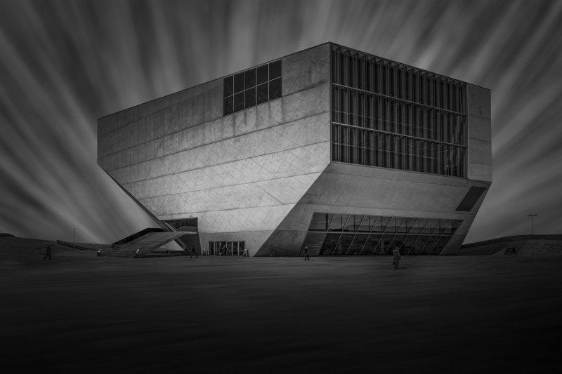 house of music, oporto, architecture, concrete, art House of Music фото превью