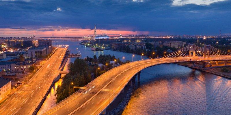 Мост Бетанкура и новые достопримечательности Санкт-Петербургаphoto preview