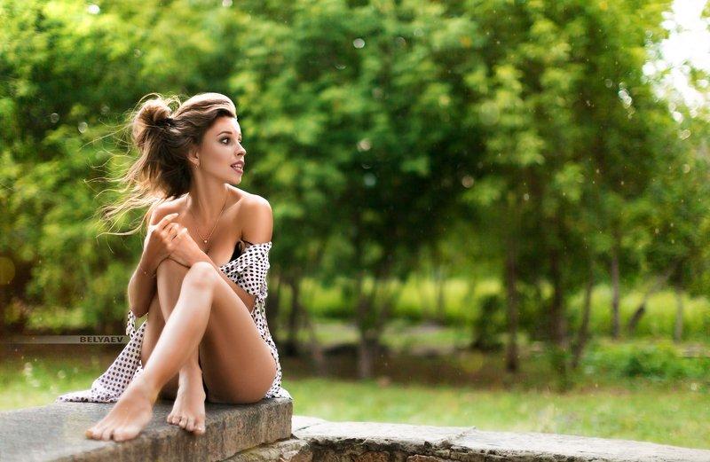 woman, outdoor, sensual, dress, wind, looking Nastyaphoto preview