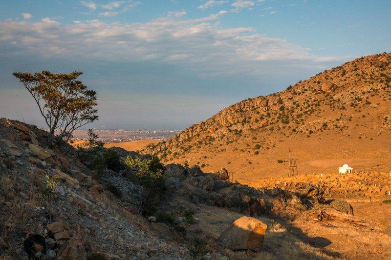 горы,вечер.пейзаж,дагестан. Вечерний пейзаж..photo preview
