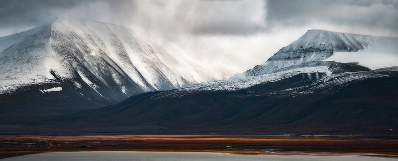 svalbard, spitsbergen, northnorway, islands, arctic, polar, snow, snowfall Great big white worldphoto preview