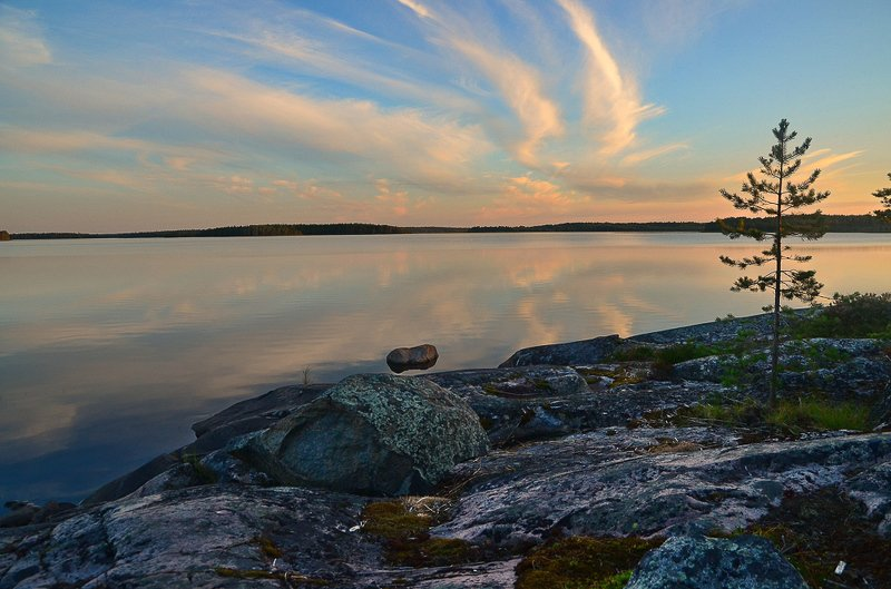 Карельские закатыphoto preview