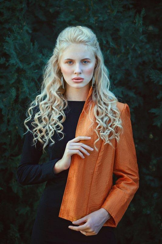 portrait, girl, model, eyes, hair, lips, face, beauty, facial, make-up, photographer, russia, nikon Anastasia фото превью