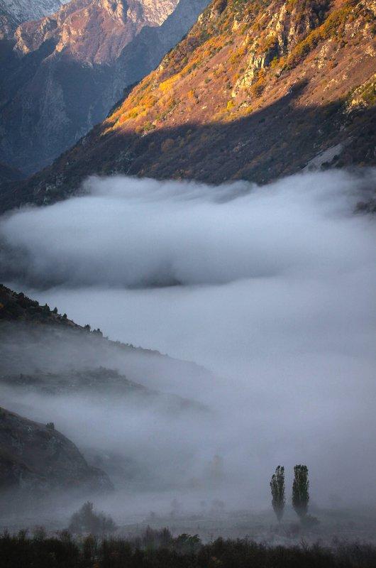 рассвет,горы,балкария,верхняя балкария,кабардино балкария,черекское ущелье. Рассвет в горах..photo preview