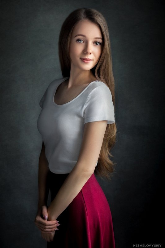 girl, portrait, art, девушка, портрет  фото превью