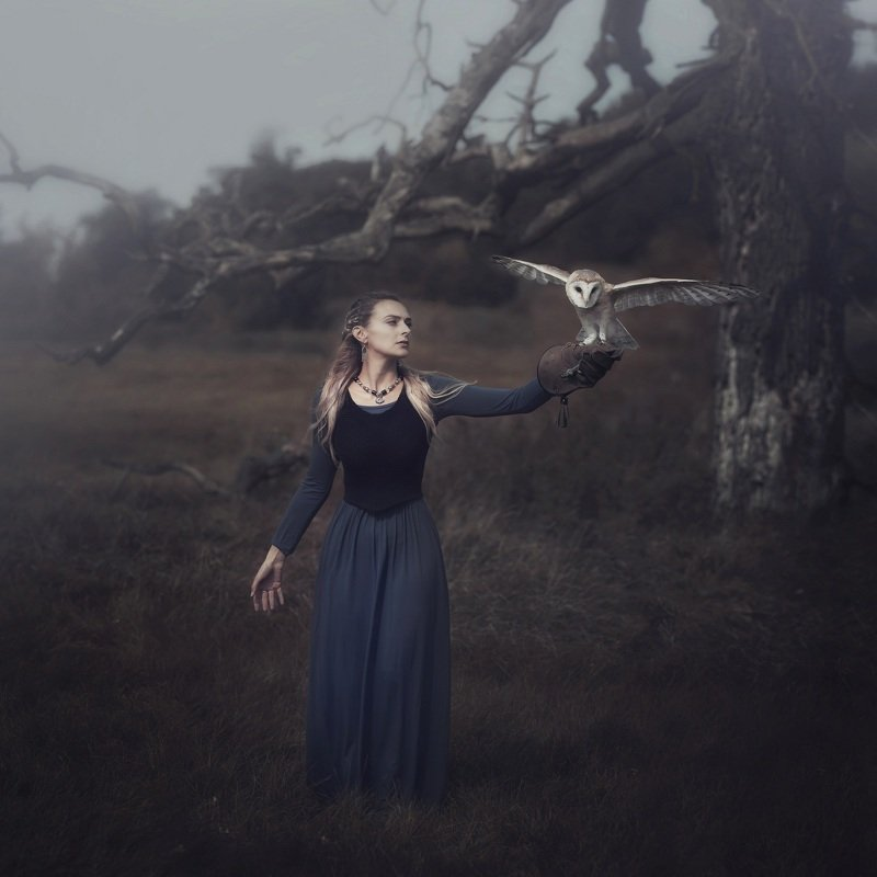 #vintage #portrait #photomodel  #story #north #freedom #owl North prophecyphoto preview