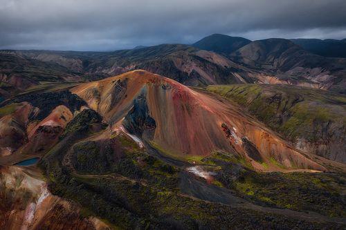 Риолитовые горы Ландманналаугар.
