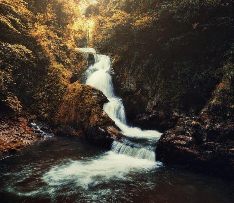 cascada de Asturiasphoto preview