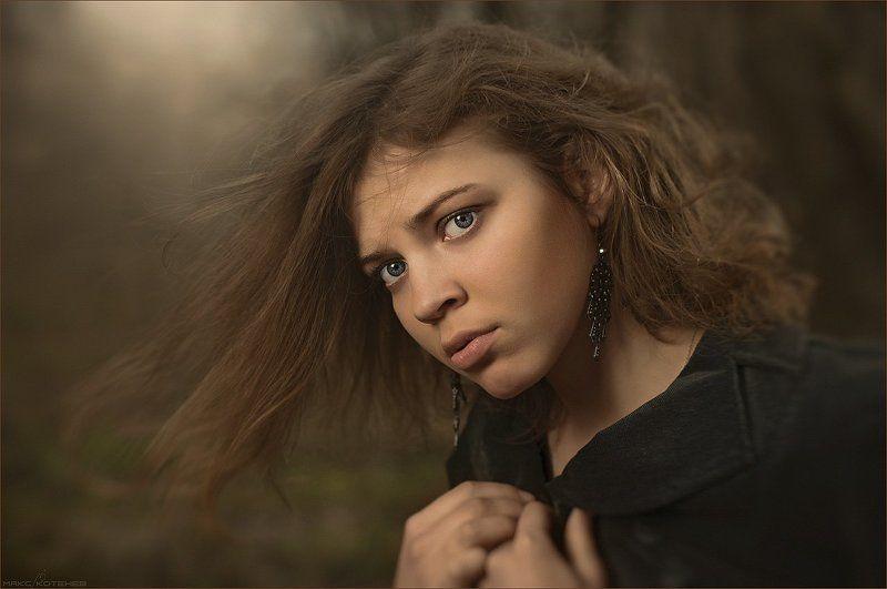 девушка, ветер, настроение ***photo preview