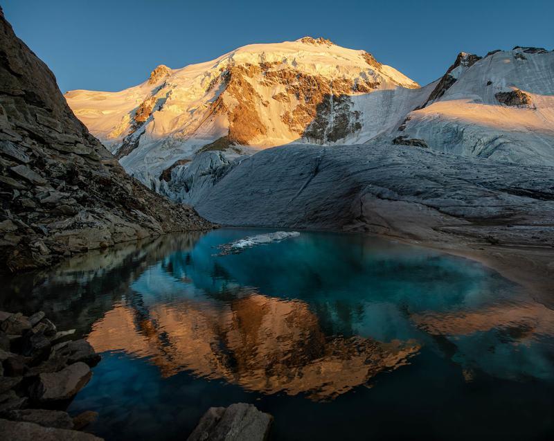 Озеро на перевале Укю. фото превью