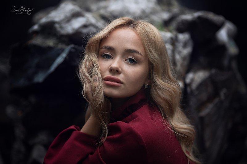 портрет красота девушка арт Полина фото превью