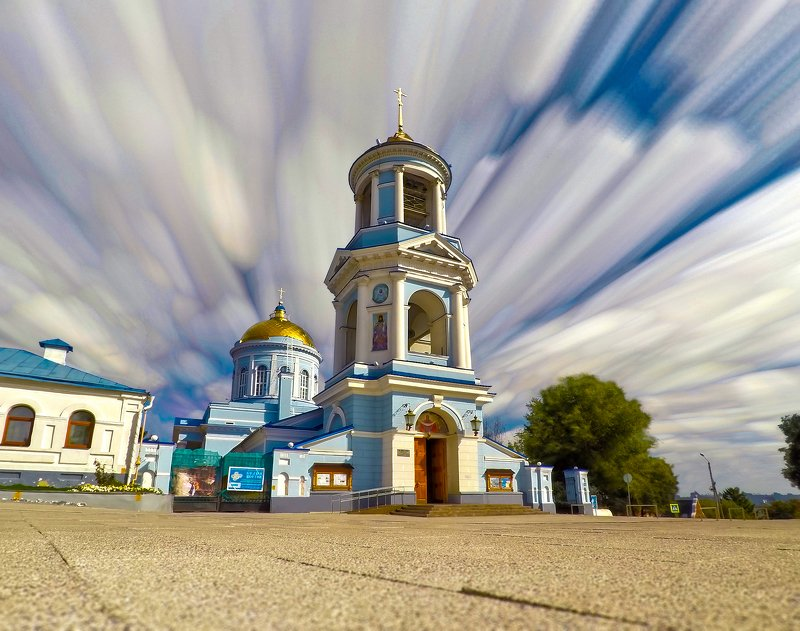 sky clouds architecture cathedral cityscape небо облака архитектура собор город Cloud Paintingsphoto preview