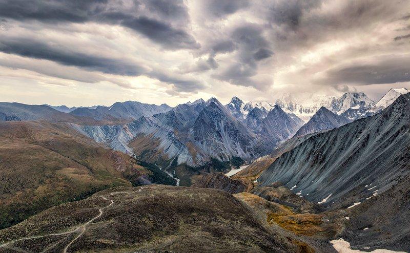 пейзаж, алтай, белуха,горы,вершины Вершины Алтая.photo preview