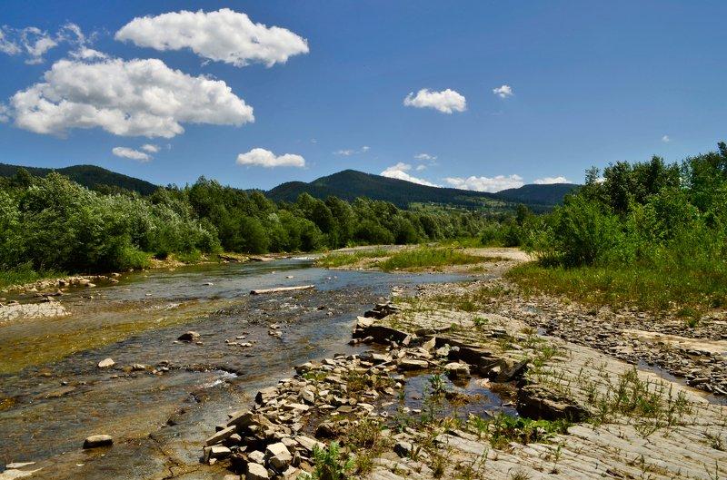 горы,река,карпаты,пейзаж Горная река Карпатphoto preview