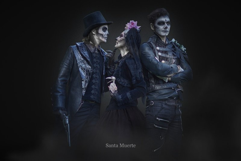 портрет, жанр, santamuerte, rekhov Santa Muertephoto preview
