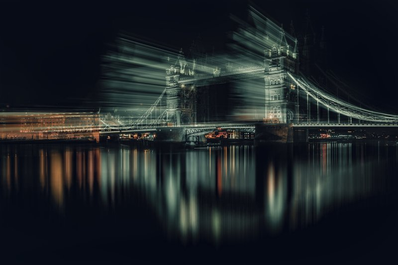 city, abstract, conceptual , london, portugal, old, europe, creative Tower bridge - LONDONphoto preview
