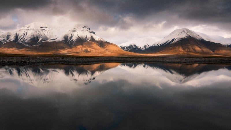 svalbard, spitsbergen, northnorway, islands, arctic, summer, reflection Serene Arcticphoto preview