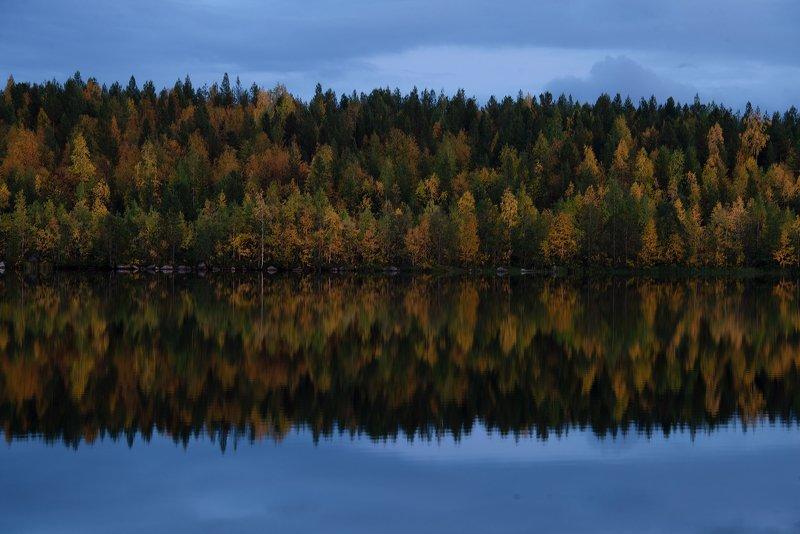 Кольский полуостров, озеро Марфа, осень, autumn, lake Краски осени на Крайнем Севереphoto preview