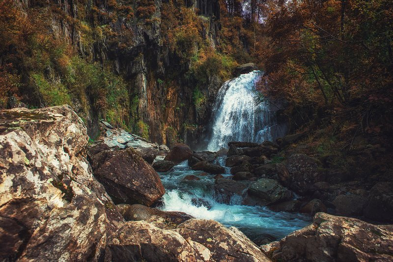 корбу, алтай Водопад Корбуphoto preview