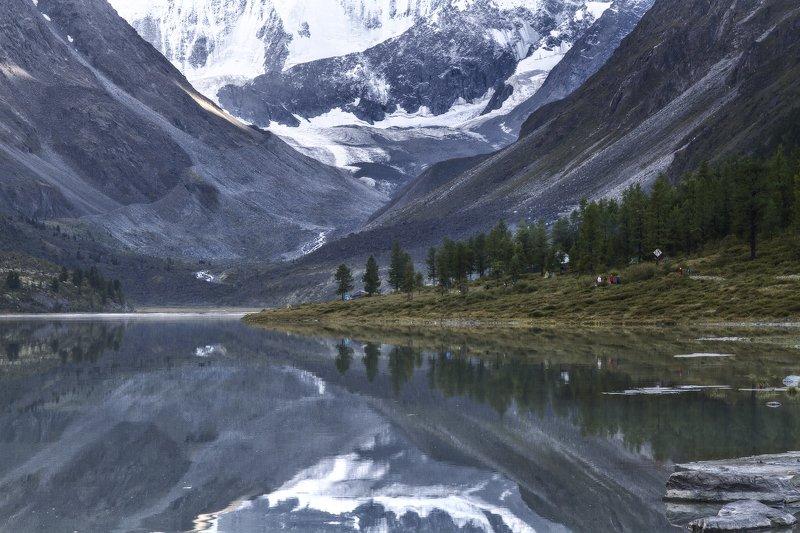пейзаж, алтай, белуха,горы,озеро,отражение Аккемphoto preview