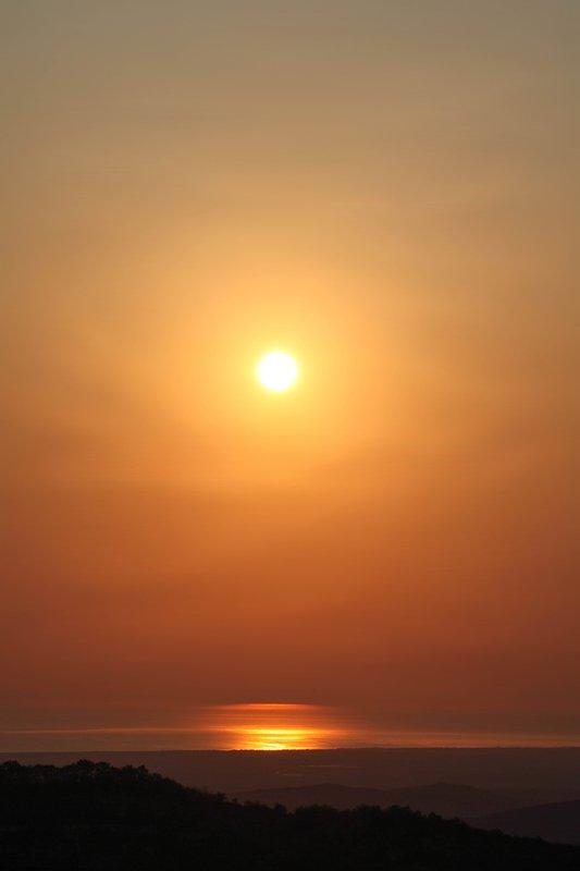 рассвет,каспий,утро,дагестан Рассвет над Каспием..photo preview