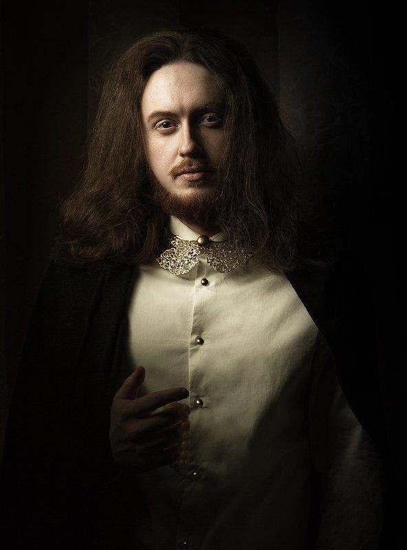 мужчина, портрет, рембрандт, костюм, история Портрет photo preview