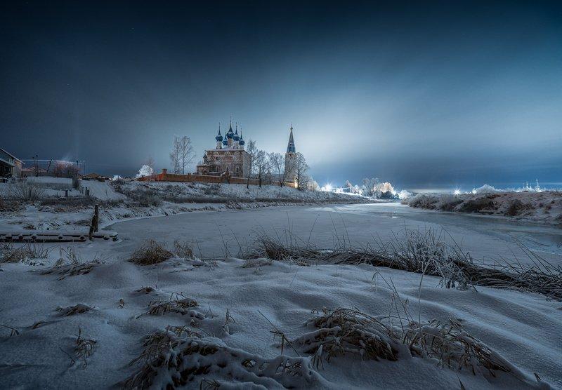 утро, рассвет, природа, туман, река,дунилово Мороз крепчалphoto preview