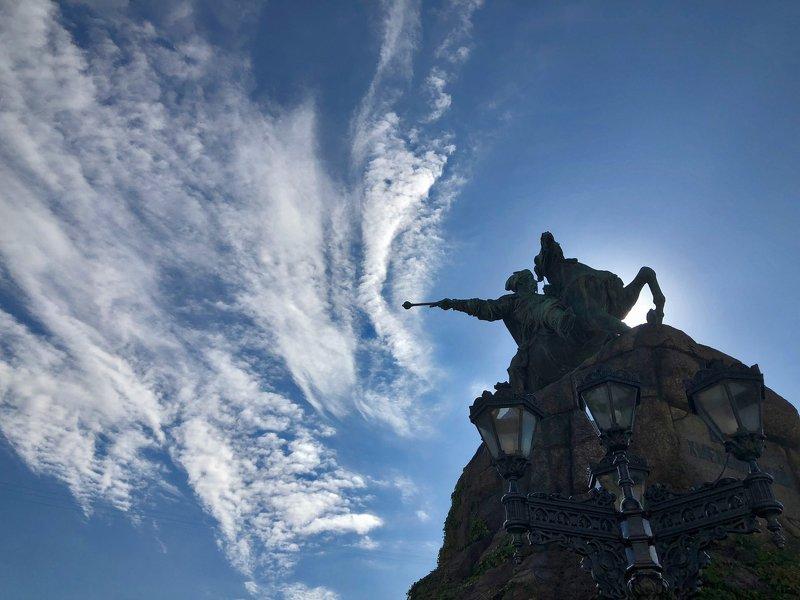киев,памятник,архитектура памятник Богдану Хмельницкомуphoto preview