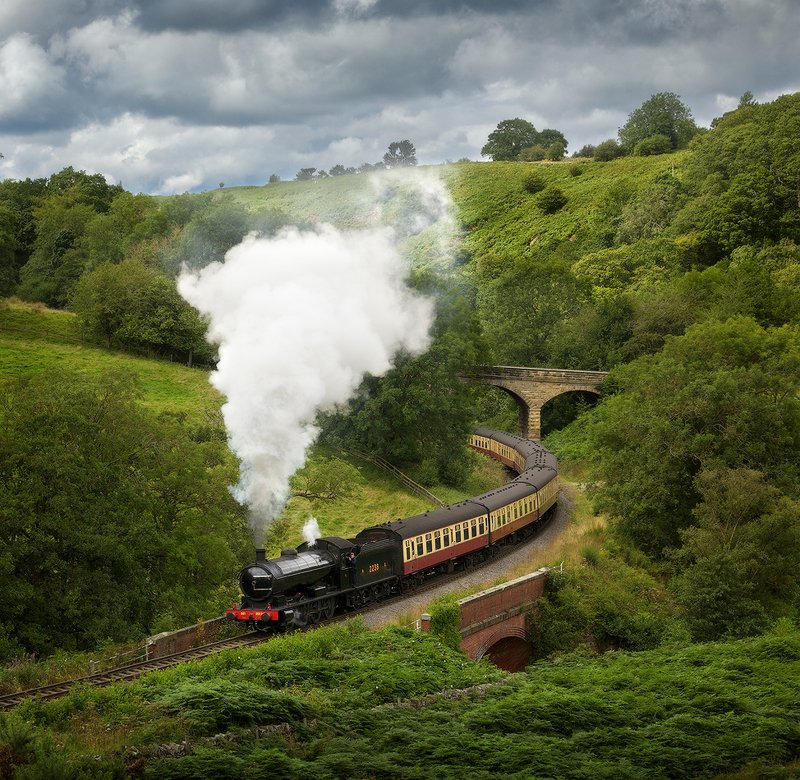 england, steam train ***photo preview