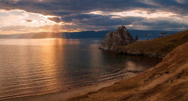 озеро, байкал, сибирь, закат, природа, пейзаж, ***photo preview