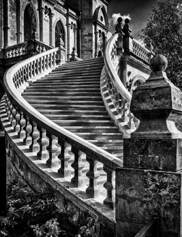 лестница, колонны, церковь, быково, винтовая Лестница в небоphoto preview