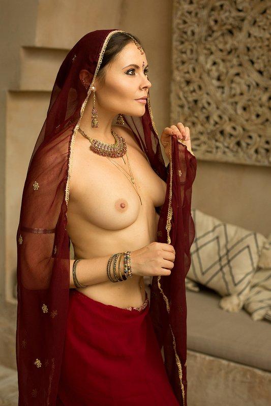 арт-ню женский портрет Принцесса Индииphoto preview