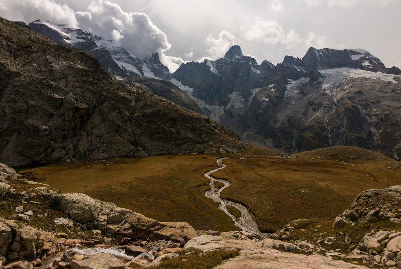 горы, облака, кавказ harsh world...photo preview
