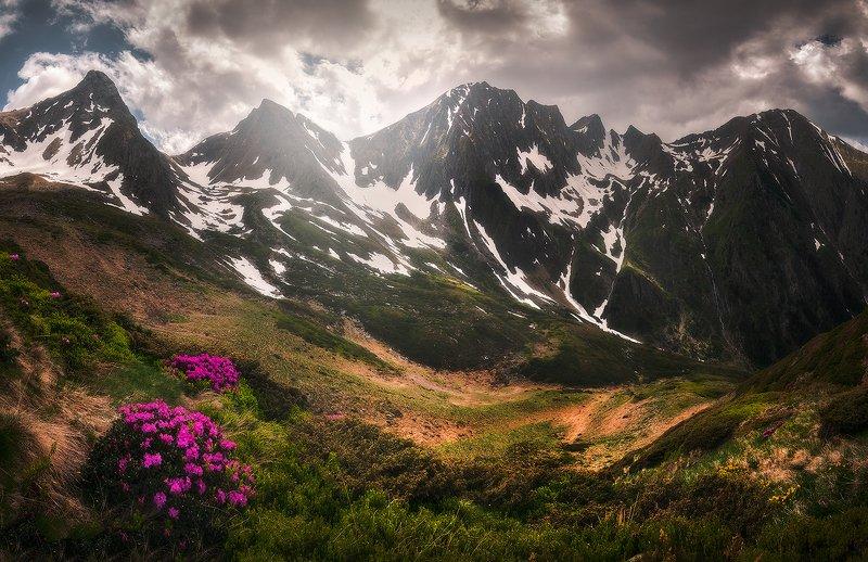 fagaras, romania, landscape, sunset, wide, panorama Watchmenphoto preview