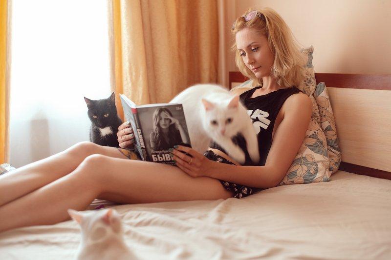 И тут от куда ни возьмись, кошкаphoto preview