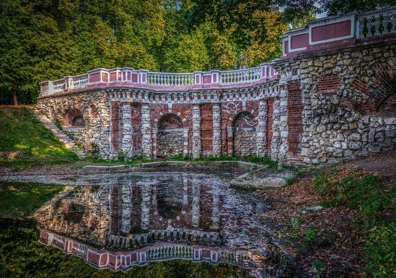 rastrelli, grotto, lefortovo park, moscow Rastrelli Grotto in Lefortovo Park, Moscowphoto preview