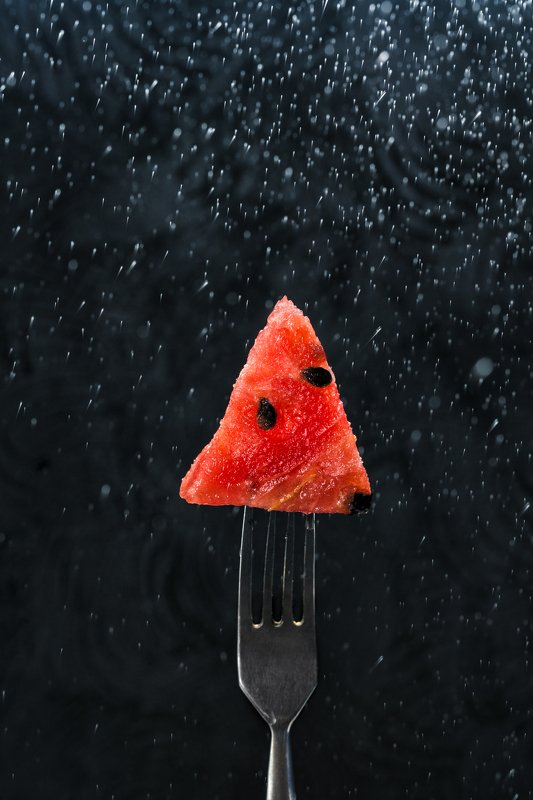 Арбуз, лето, еда, ягода, фудфото watermelon trianglephoto preview