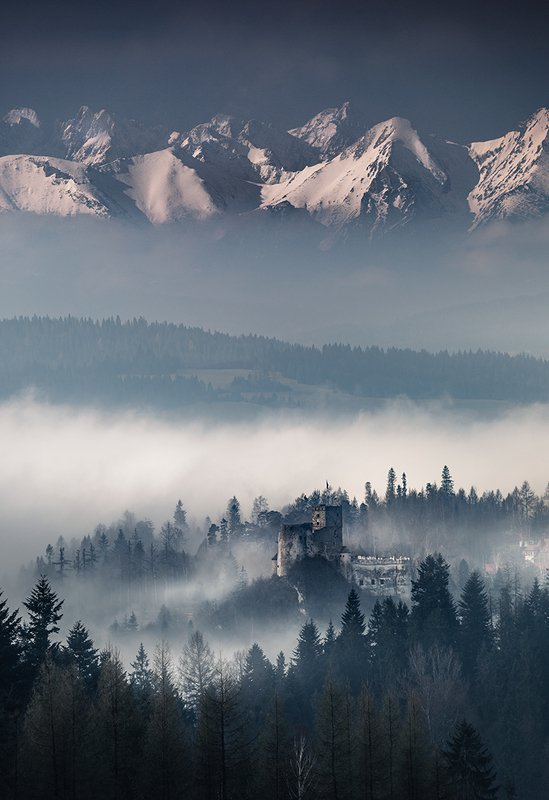 Castle in the fogphoto preview