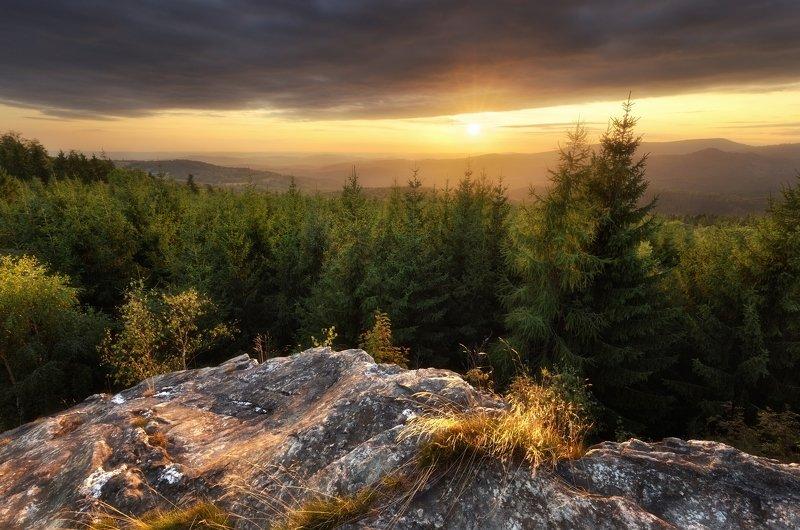landscape, tree, sunset Ferdinandov Rocksphoto preview