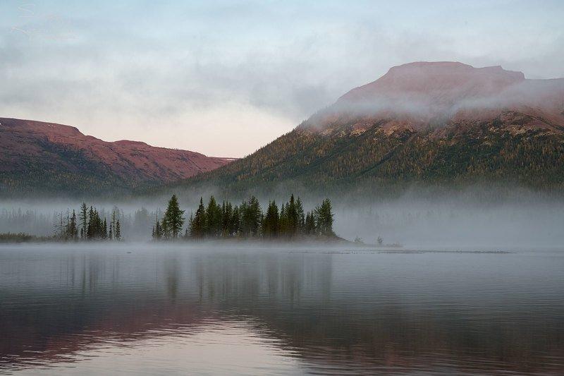 путораны, плато путорана, фотоэкспедиция Утро туманноеphoto preview