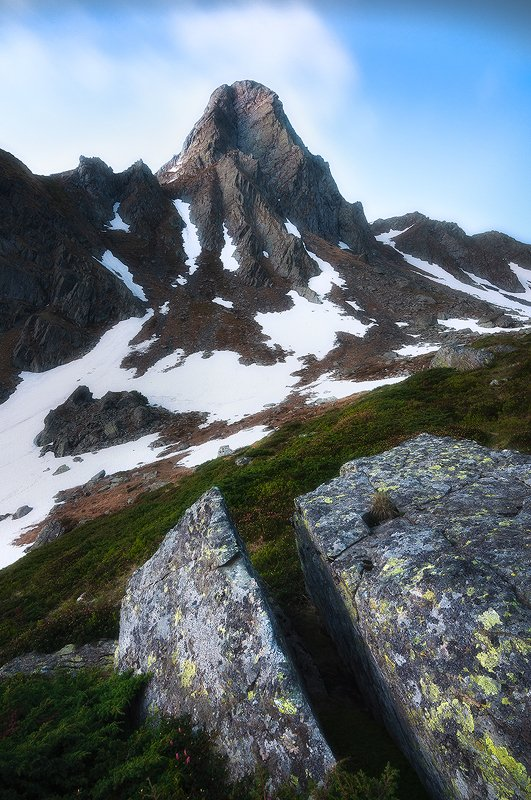 fagaras, romania, landscape, sunset, peak Pinnaclephoto preview