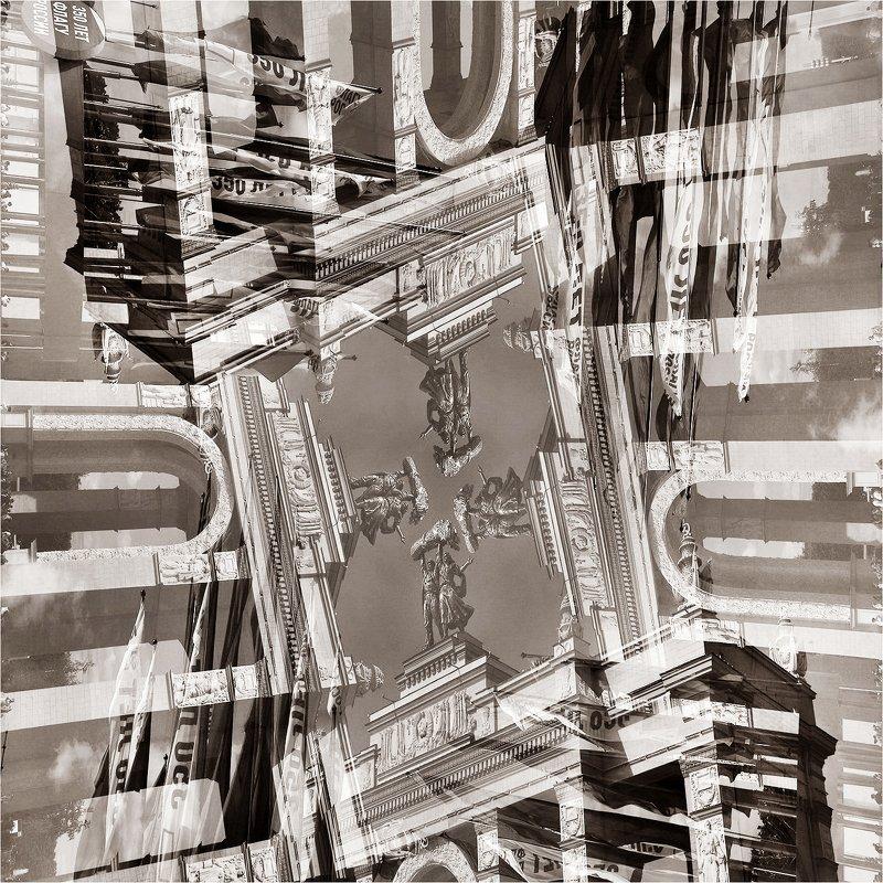 вднх, выставка, вход, лето, скульптура, город, Из серии: Калейдоскоп-город.photo preview