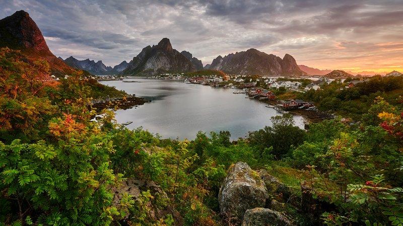 reine, lofoten, landscapes Reinephoto preview