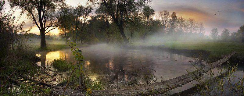 Переправа весенней рекиphoto preview