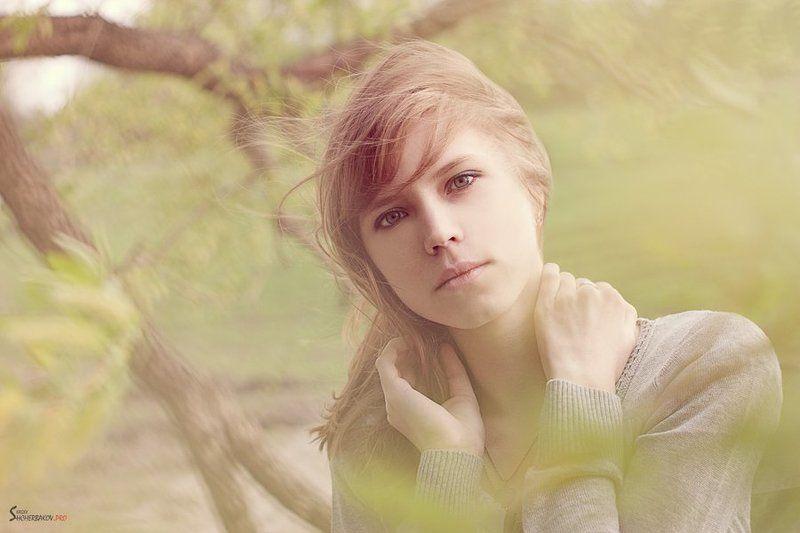 портрет, 2012, красивая, девушка Ленаphoto preview