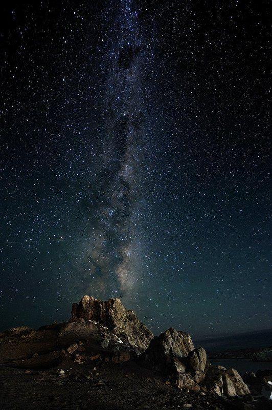 антарктика, king georg island Млечный путь (вид с южного полушария)photo preview
