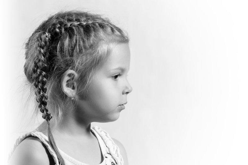 девочка, портрет, студия девочкаphoto preview