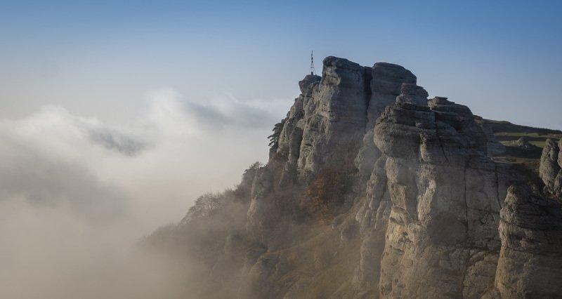 крым, утро, демерджи, рассвет, горы, алушта, лучистое, crimea Туманности воздушных рекphoto preview