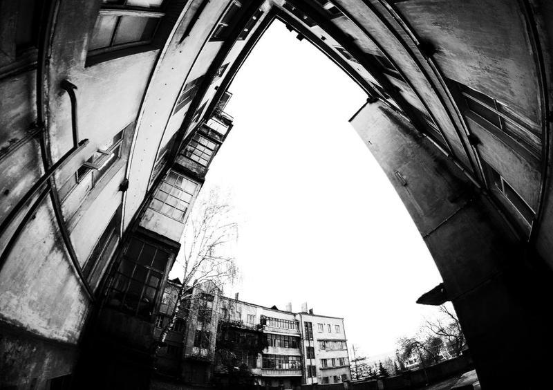 город, улица, архитектура дворphoto preview